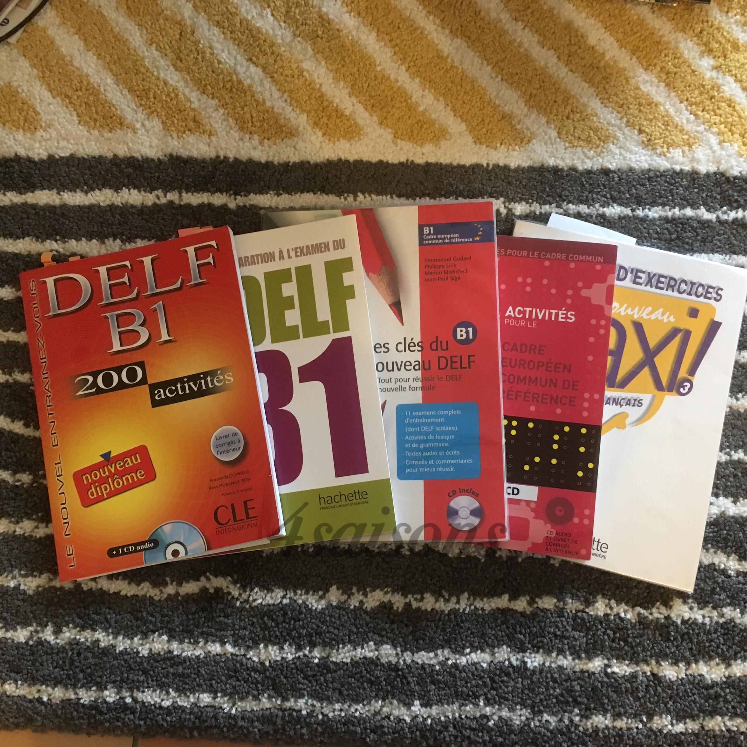 DELFB1勉強方法おすすめのテキスト