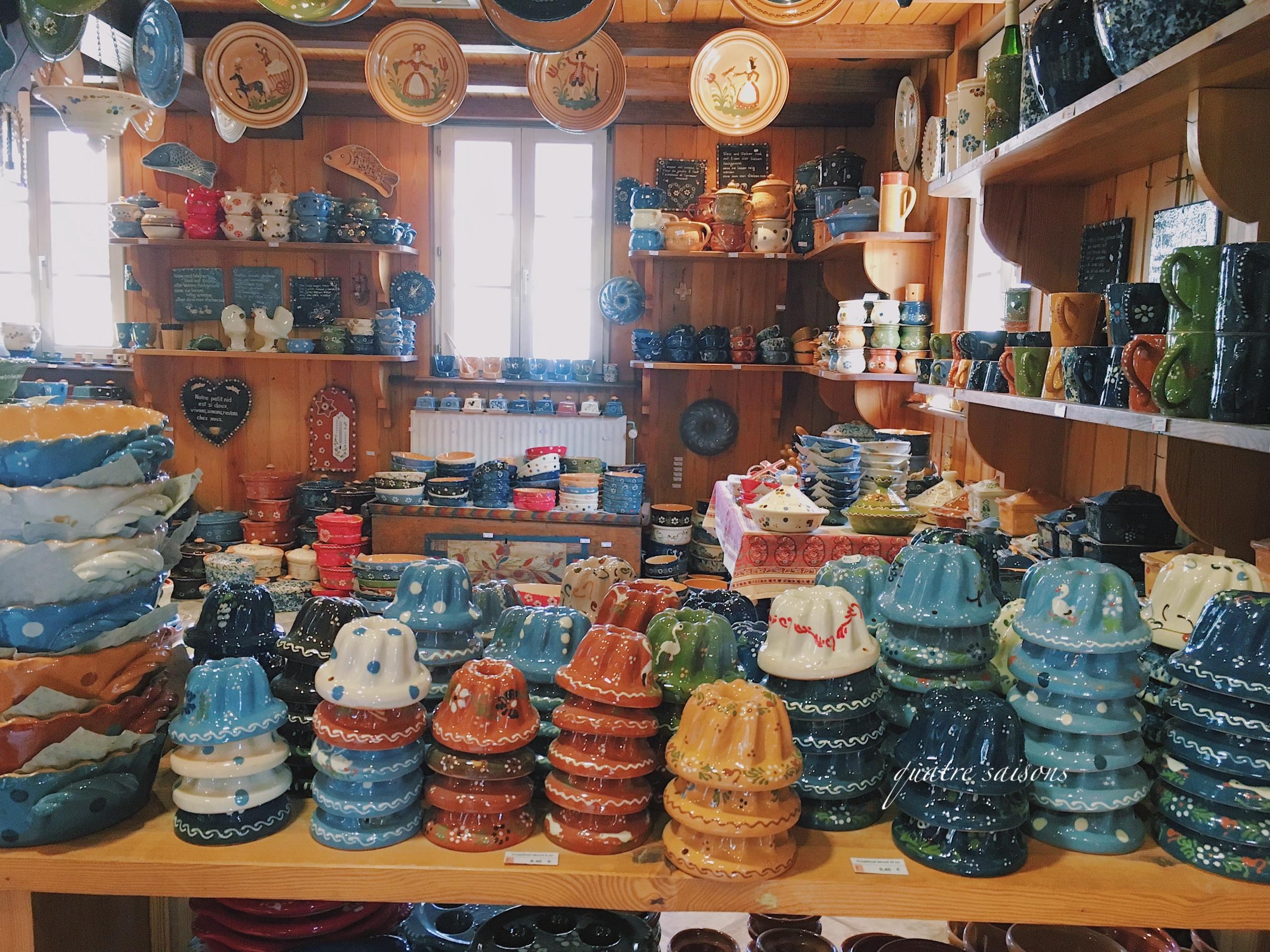 スフレンハイム、オススメのスフレンハイム焼きのお店の店内