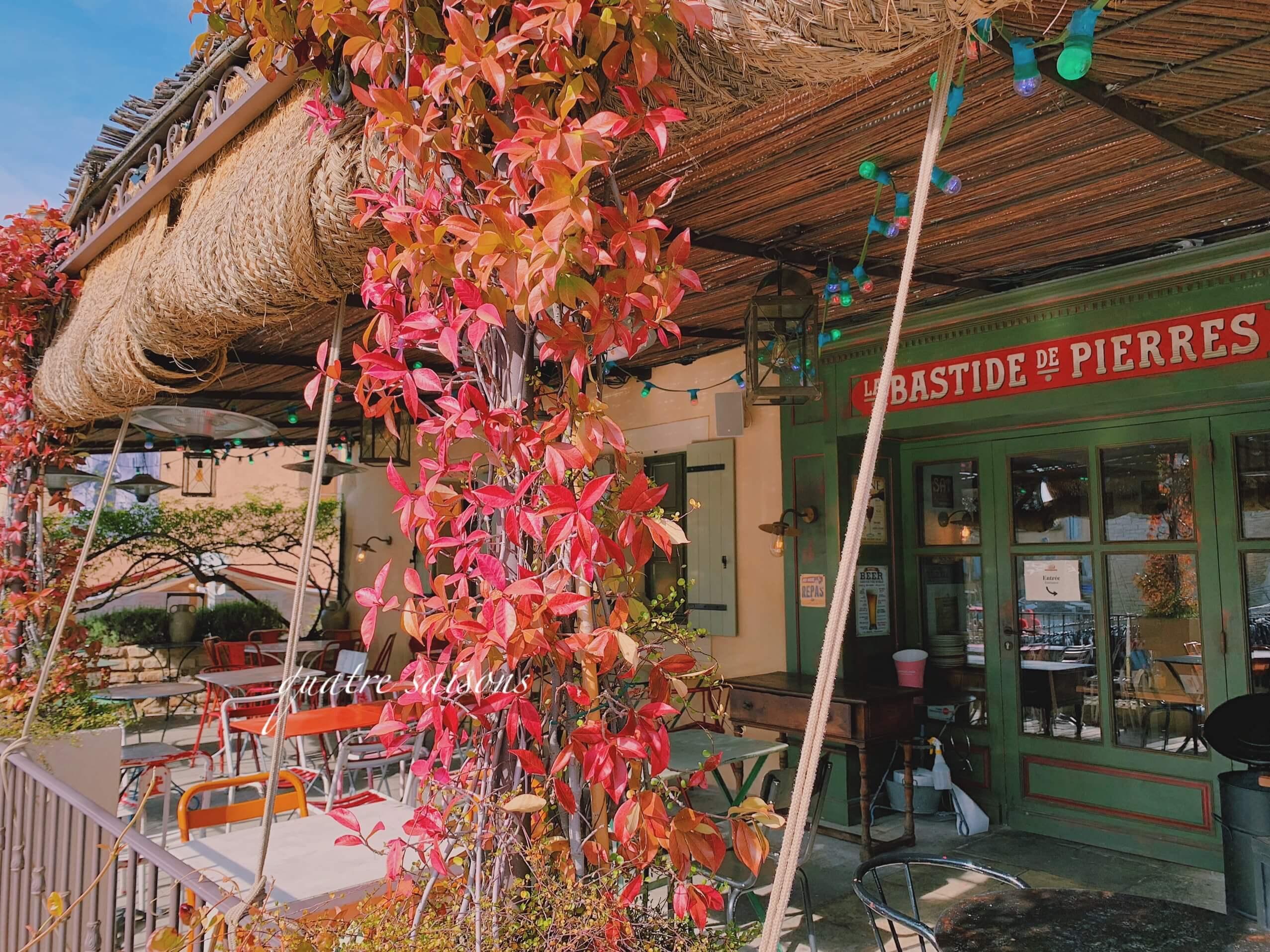 南仏の村ゴルドのオススメレストラン