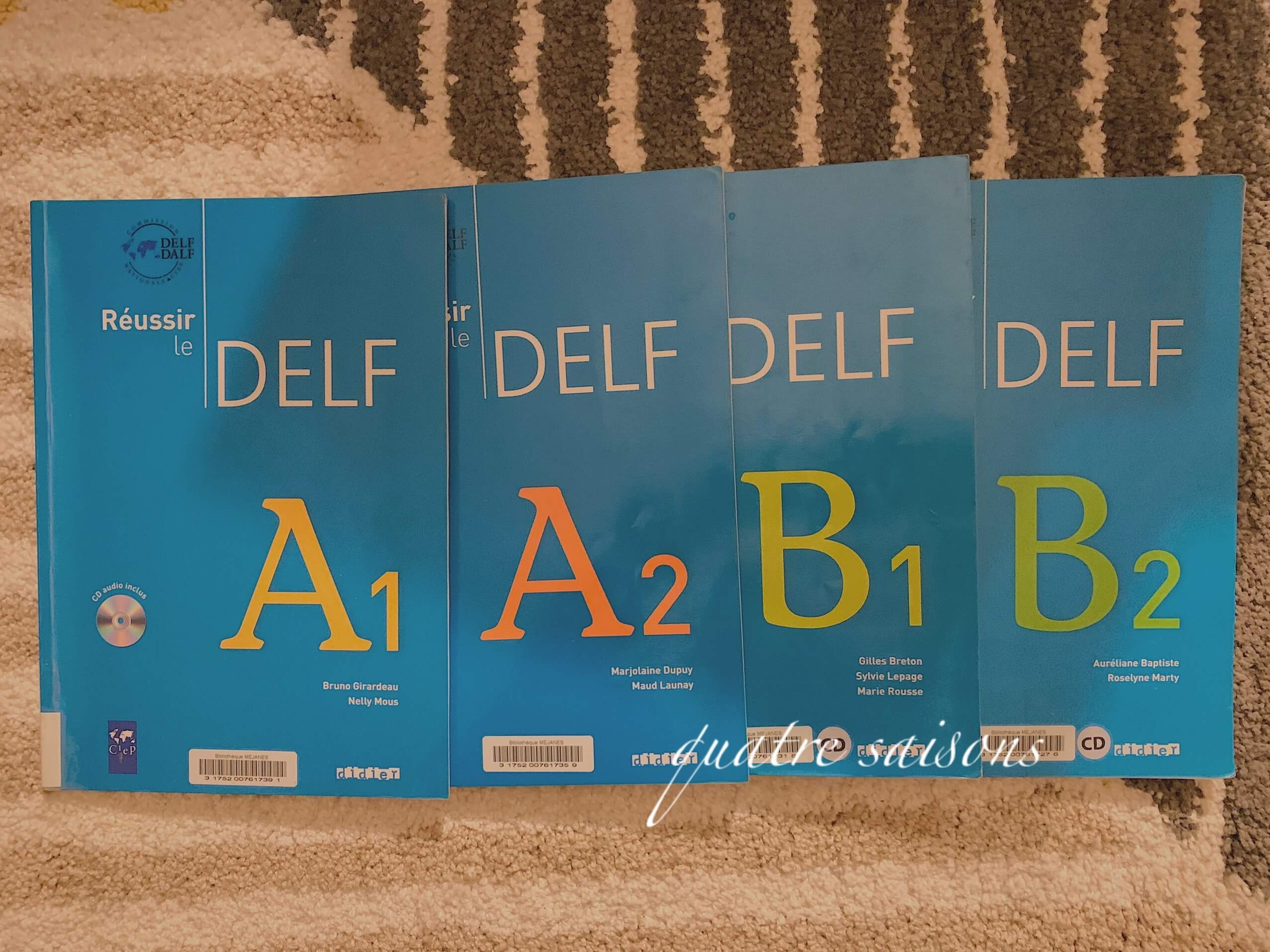 DELFのオススメ参考書A1/A2/B1/B2